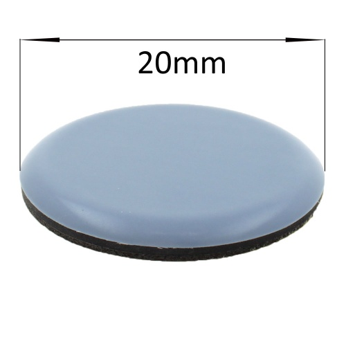 20mm Ptfe Teflon Stick On Pads Glides For Furniture