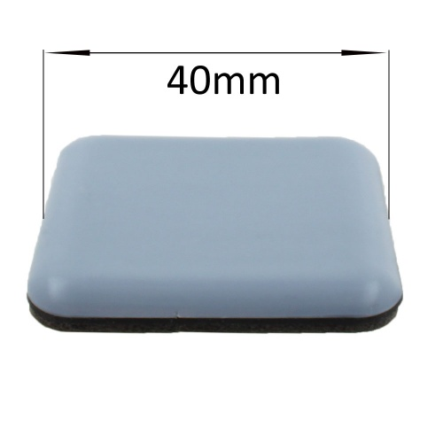 40mm square self adhesive ptfe caoted glides / pads