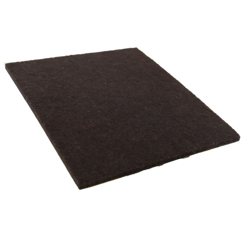 95mm x 80mm Self Adhesive Furniture Felt Pad (Sold Individually)