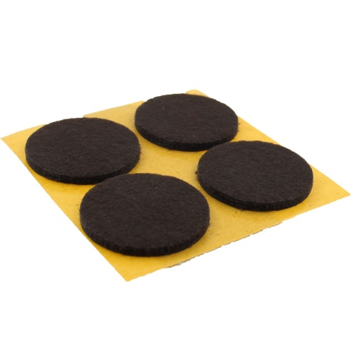35mm Round Self Adhesive Furniture Felt Pads ( 4 pads per sheet )